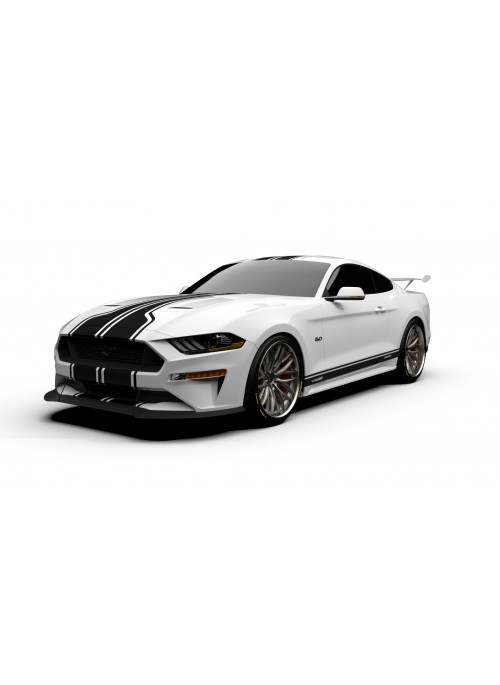Raceskinz® 2018-2019 Mustang RS50 ZENITH LT™ Edition Premium Graphics Kit