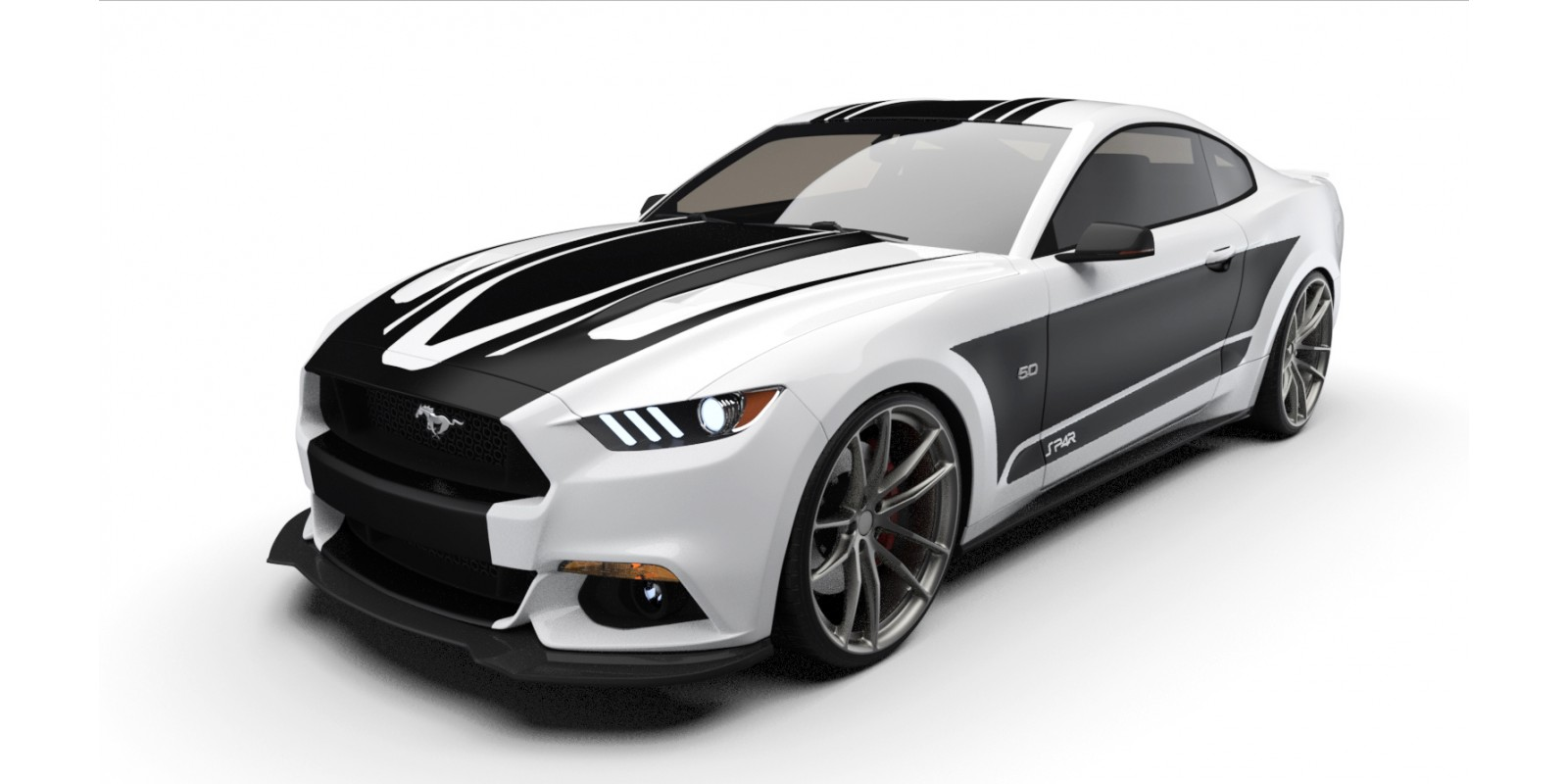 Raceskinz® 2015-2017 Mustang RS50 SP4R™ Edition Premium Graphics Kit