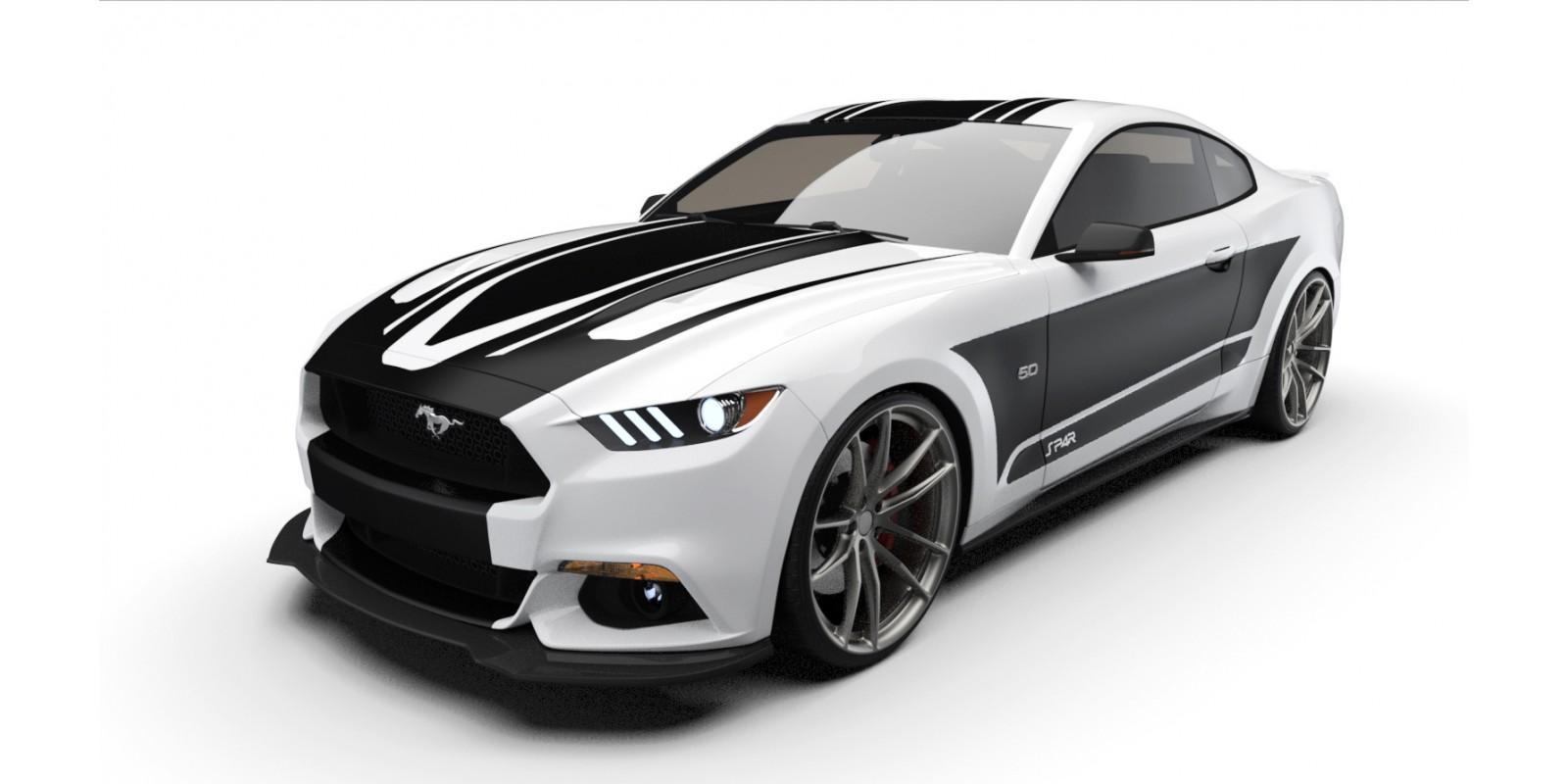Raceskinz® 2015-2017 Mustang RS50 SP4R™ Edition Premium Graphics Kit