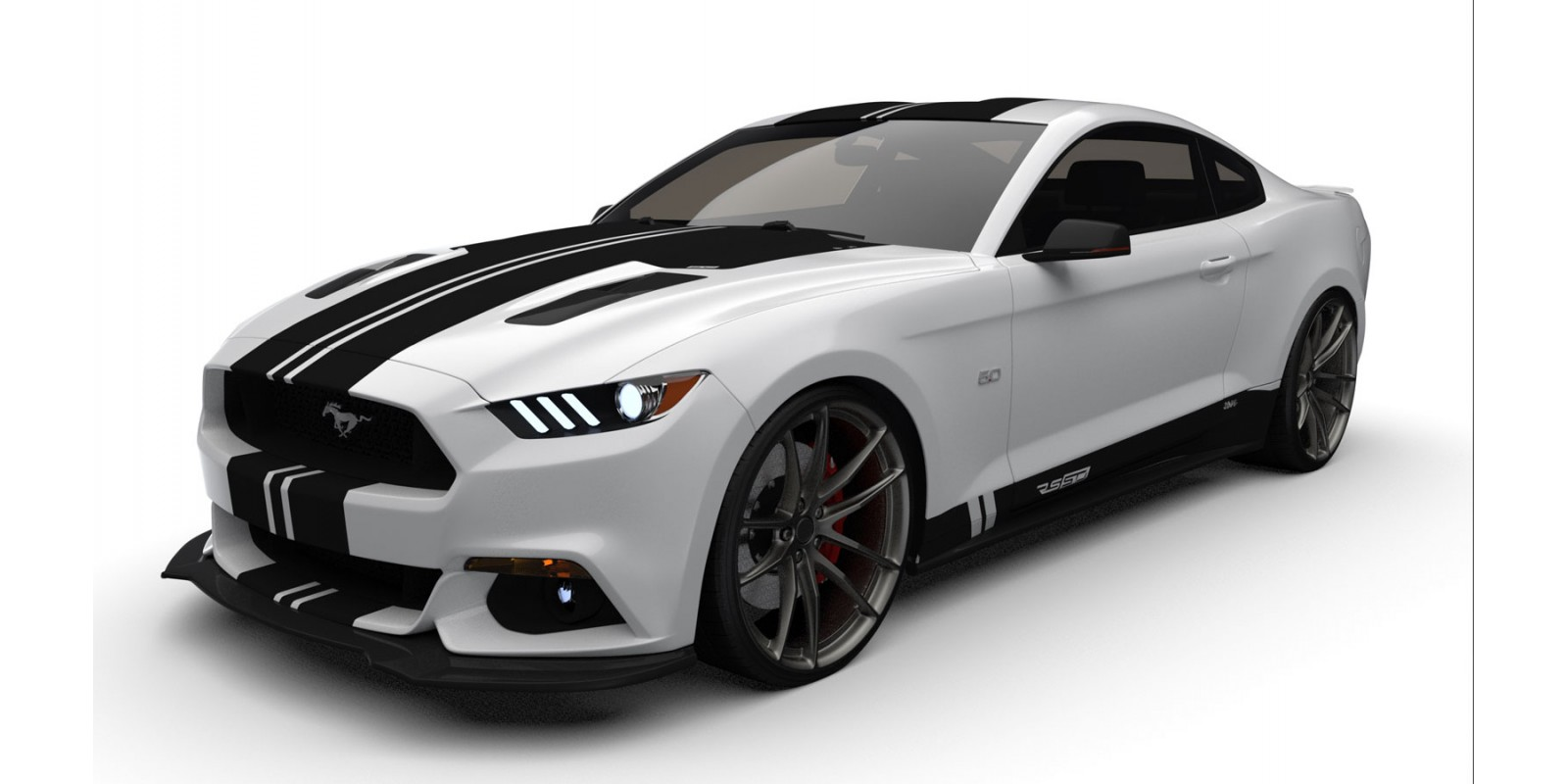 Raceskinz® 2015-2017 Mustang RS50 D3NiAl™ Edition Premium Graphics Kit
