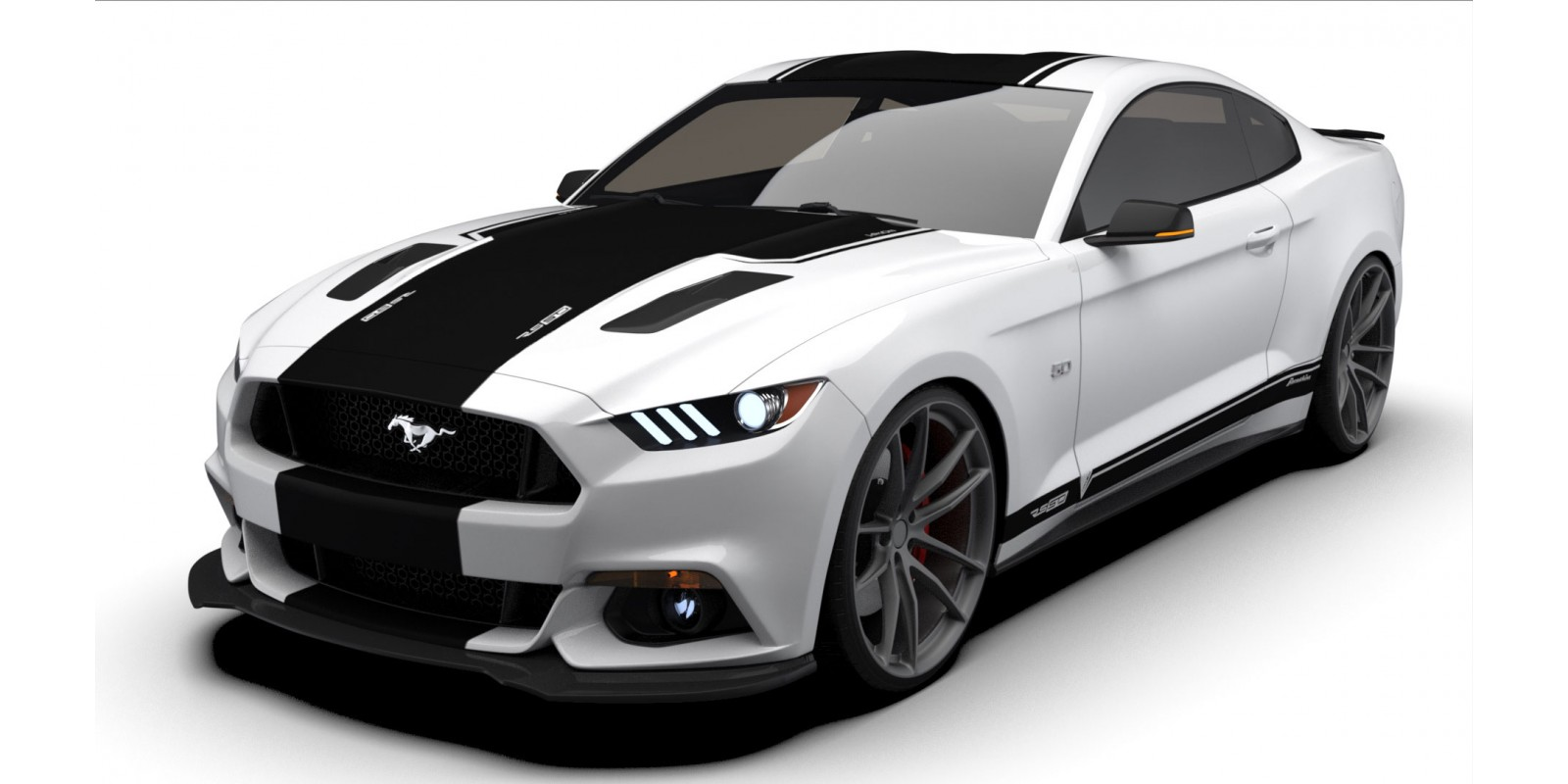 Raceskinz® 2015-2017 Mustang RS50 JARGON™ Edition Premium Graphics Kit
