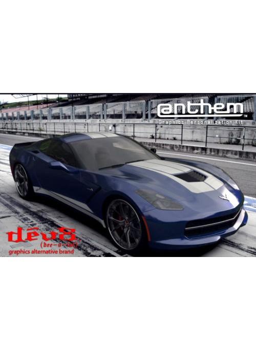 Raceskinz® 2015-2017 DêV8™ @nthem™ Edition Premium Graphics Kit